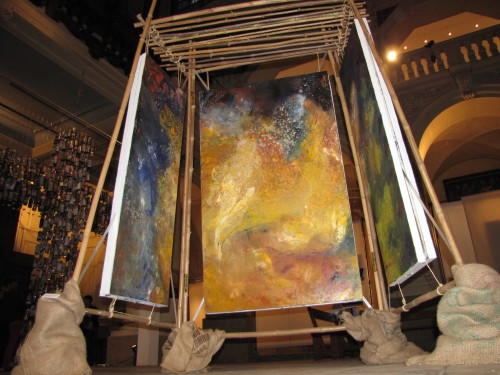 exposition, art contemporain, peinture